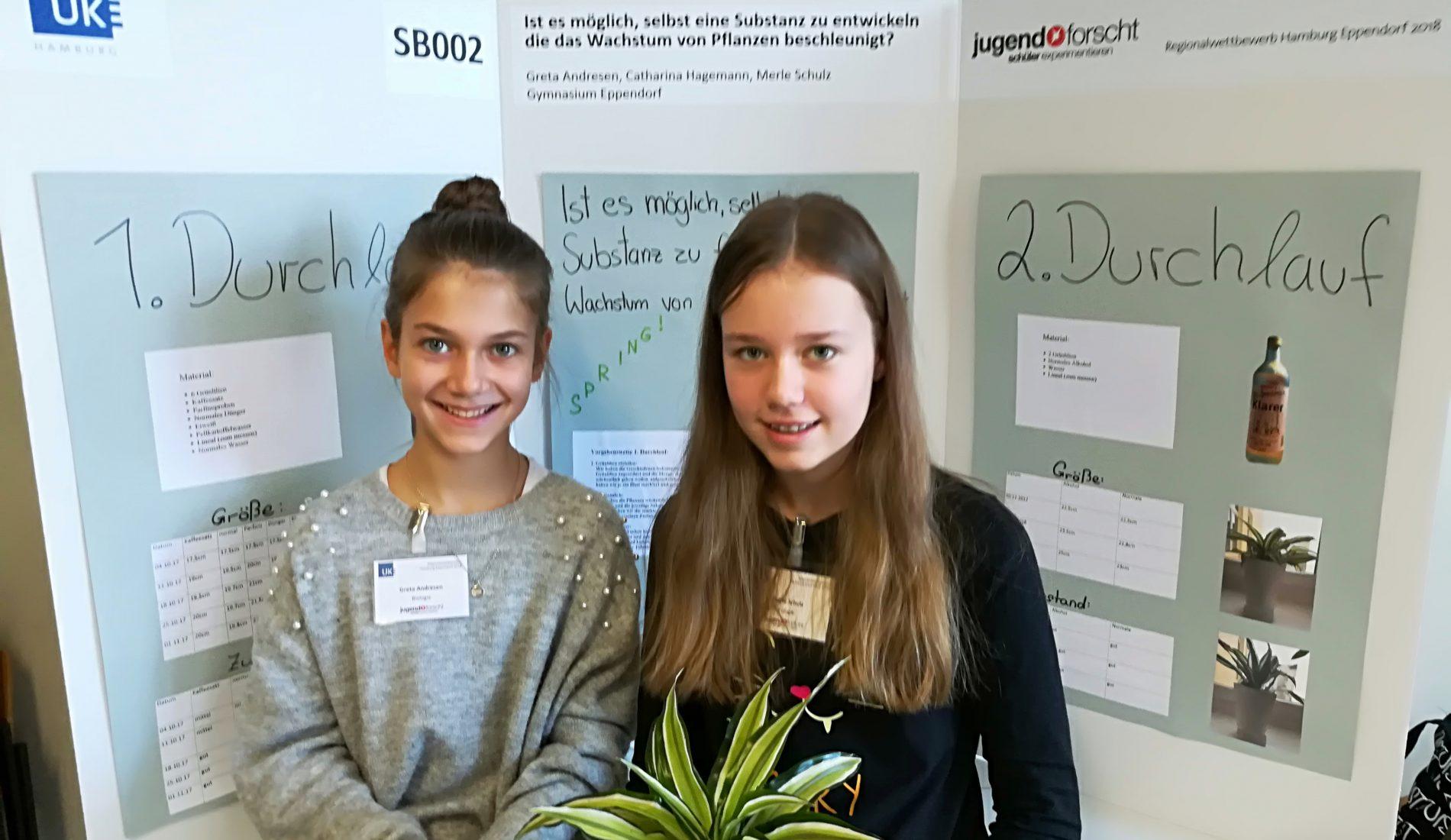 """Schüler experimentieren"""" bei """"Jugend forscht"""""""