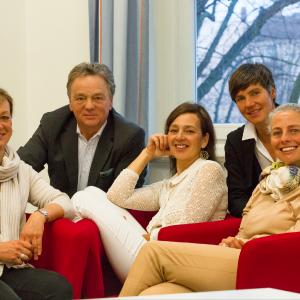 Förderverein Team: Stefanie Ernst, Anina Handreke, Heino Hauschildt, Dr. Maike Languth, Ulrike Langerbeins